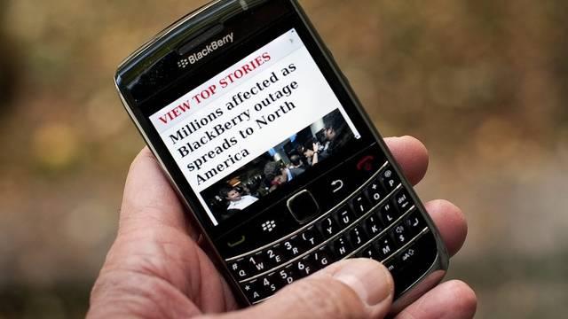 Die Dienste von Blackberry laufen wieder besser (Archiv)