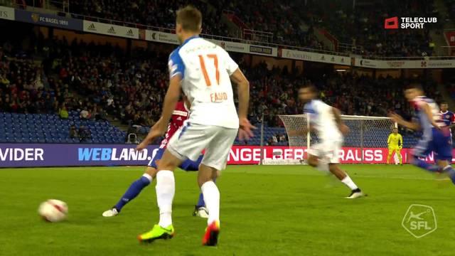 Super League, 2017/18, 4. Runde, FC Basel - GC Zürich, 2:3 Milan Vilotic