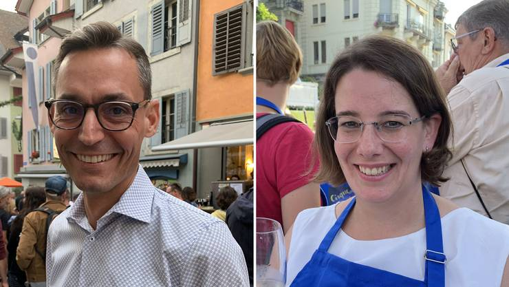 Die FDP ist die einzige Partei, die ihren Delegierten zwei Personen für die Kandidatur zur Wahl vorschlägt: Gérald Strub und Jeanine Glarner