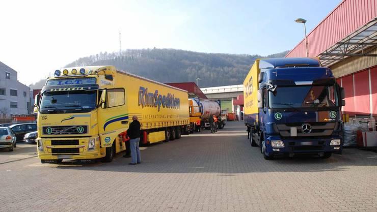 Lastwagenkontrolle (Archivbild)