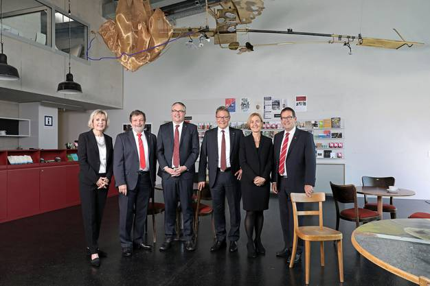 Fotografin Lenka Reichelt hat die Regierung im Theater Dornach abgelichtet
