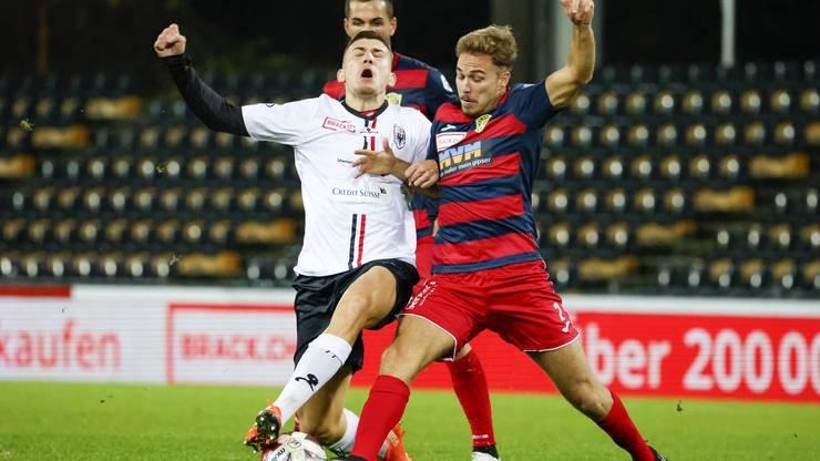 Der SC Kriens setzte seinen Plan gegen den FC Aarau perfekt um.