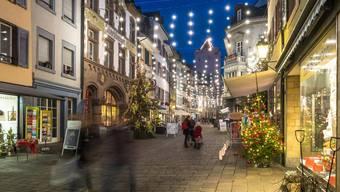 8 von 32 Gemeinden haben eine öffentliche Weihnachtsbeleuchtung.