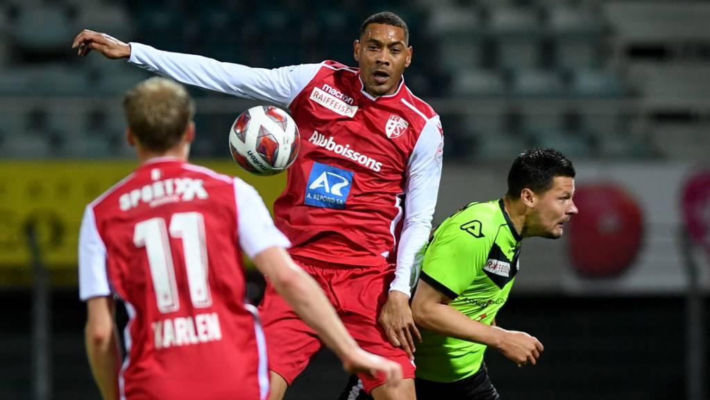 Auch Guillaume Hoarau (Mitte) konnte nichts für den FC Sion ausrichten