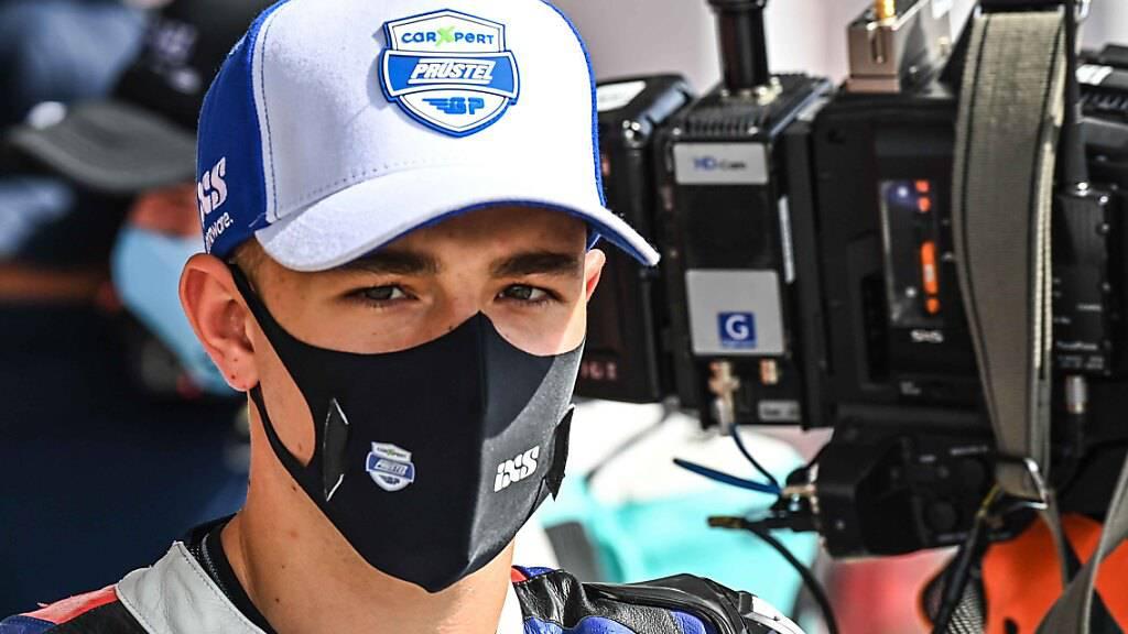 Starker Auftritt: Jason Dupasquier hielt beim GP Katar mit den Besten mit