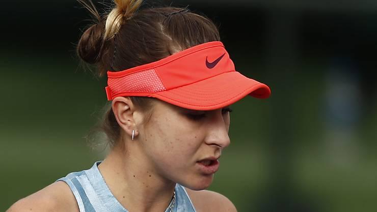 Belinda Bencic befindet sich in blendender Form.