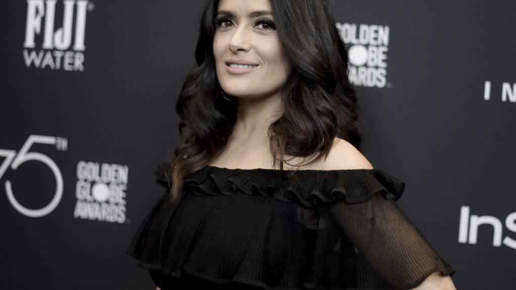 Erhebt ebenfalls schwere Vorwürfe gegen US-Produzent Harvey Weinstein: die Schauspielerin Salma Hayek. (Archivbild)