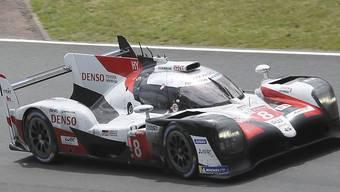 2. Platz im Rennen und in der Langstrecken-WM: Sébastien Buemi in einem Toyota