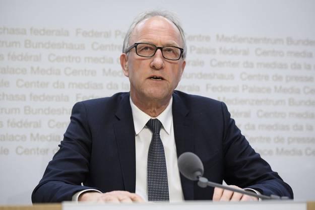 FinDel-Präsident Peter Hegglin findet das System des Ruhegehalts für Magistratspersonen für überholt.
