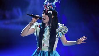 Jamie-Lee Kriewitz wird Deutschland beim Eurovision Song Contest vertreten - hier singt sie bei der deutschen Vorausscheidung in Köln.