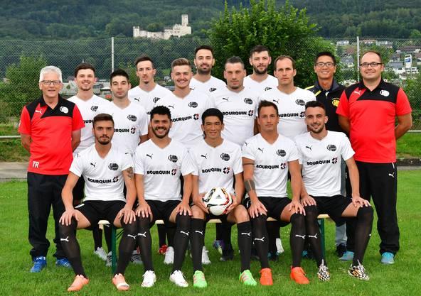 Teamfoto FC Oensingen