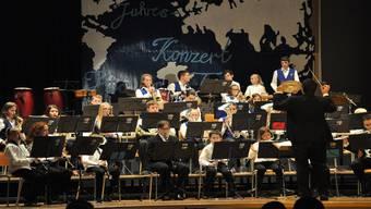 Die Jugendmusik Spreitenbach überzeugte mit schönem Konzert. aeb