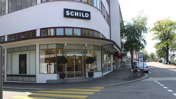 Seit 1971 gibt es den Schild in Wohlen. Ende März 2018 soll Schluss sein.