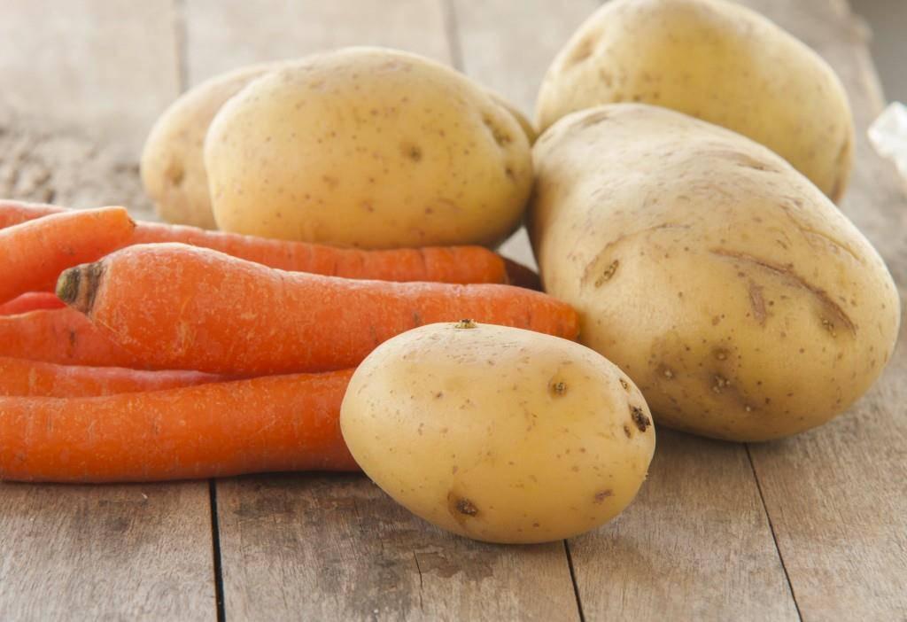 Auch Karotten und Kartoffeln aus der Schweiz isst man das ganze Jahr