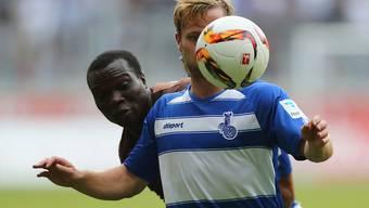 Aufsteiger Duisburg hatte den Ball nie so richtig im Visier