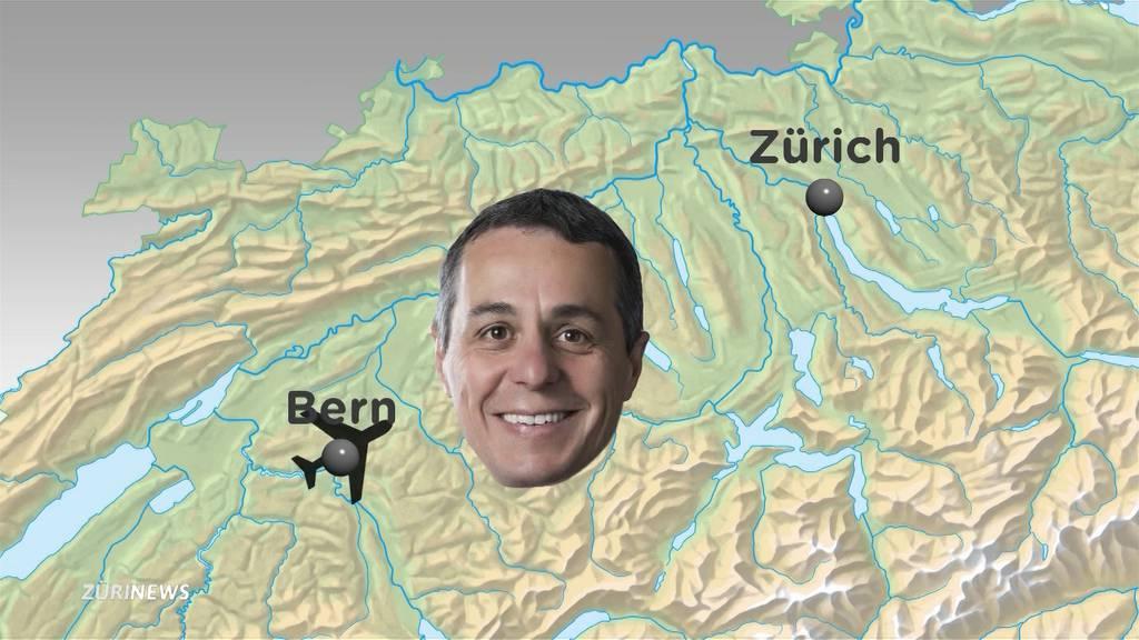 Kurzflug von Ingnazio Cassis sorgt für Kontroverse