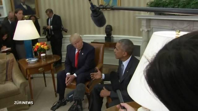«Ausgezeichnetes Gespräch» zwischen Trump und Obama