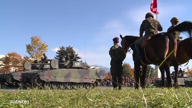 Grösstes Armee-Spektakel seit 10 Jahren