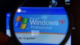 Für Microsoft Betriebssystem Windows XP gibt's keine Updates mehr. (Archiv)