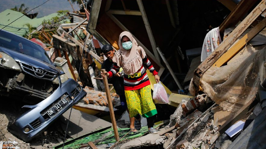 Nationaler Sammeltag für Tsunami-Opfer