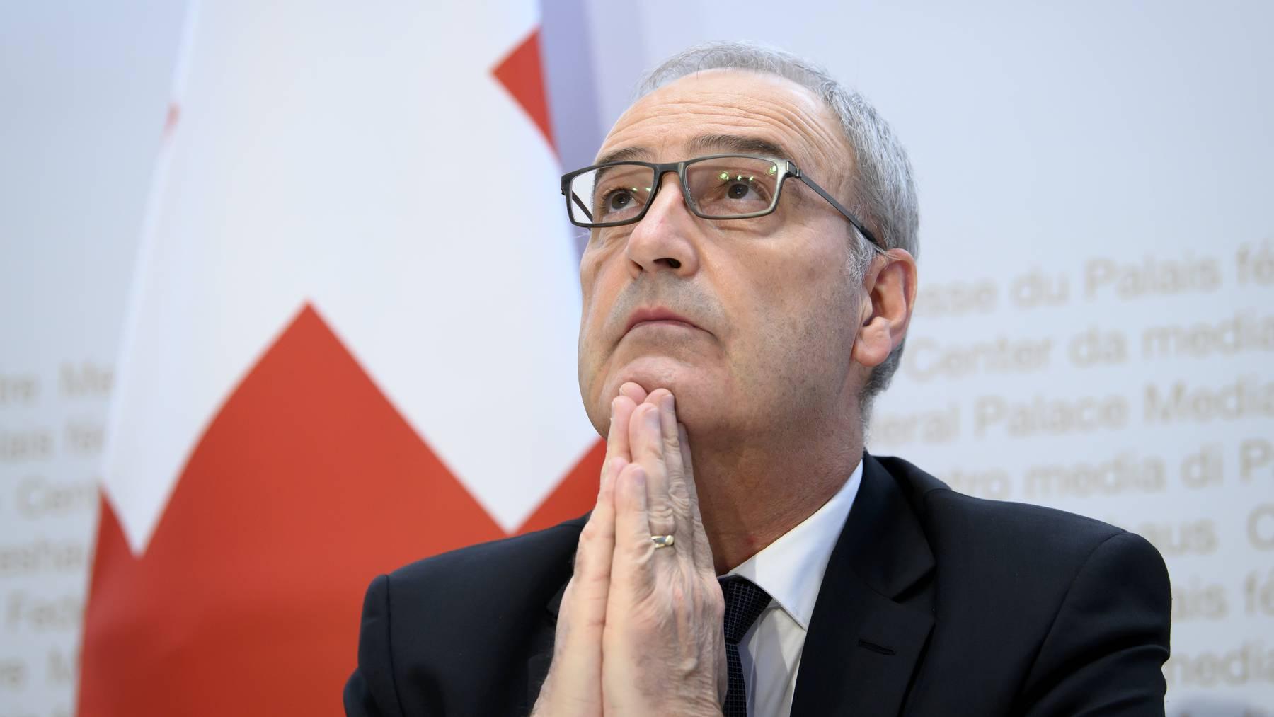 Bundesrat Guy Parmelin hatte die Administrativuntersuchung ausgelöst.