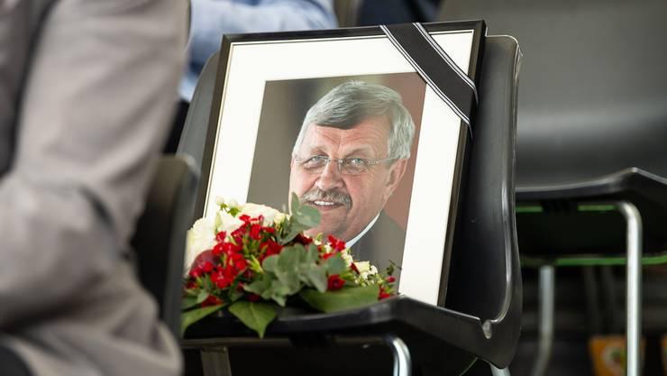 Opfer des Rechtsterrorismus: Der ermordete Politiker Walter Lübcke. DPA/Keystone
