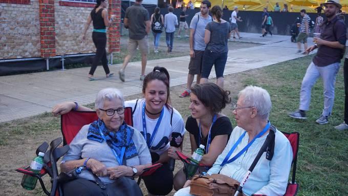 Nina war mit speziellen Gästen am Zürich Openair