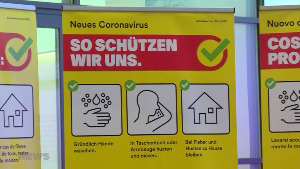"""""""Kein Grund zur Panik"""": BAG informiert über Coronavirus"""