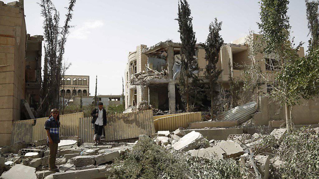Amnesty macht saudischer Allianz im Jemen Vorwürfe