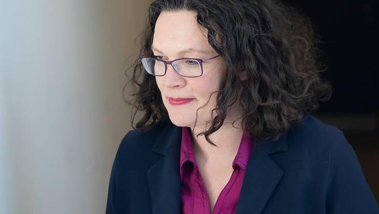 Die frühere SPD-Vorsitzende und deutsche Arbeitsministerin Andrea Nahles will sich beruflich neu orientieren. (Archivbild)