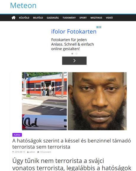 Screenshot Meteon
