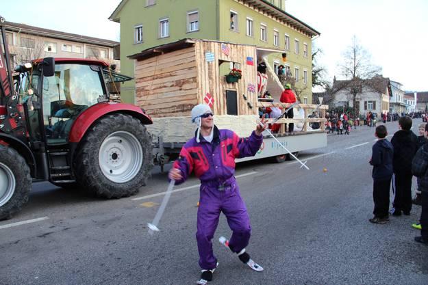 Ein Karnemellipser ganz nach dem Motto es lebe der Sport - Olympia in Mellingen