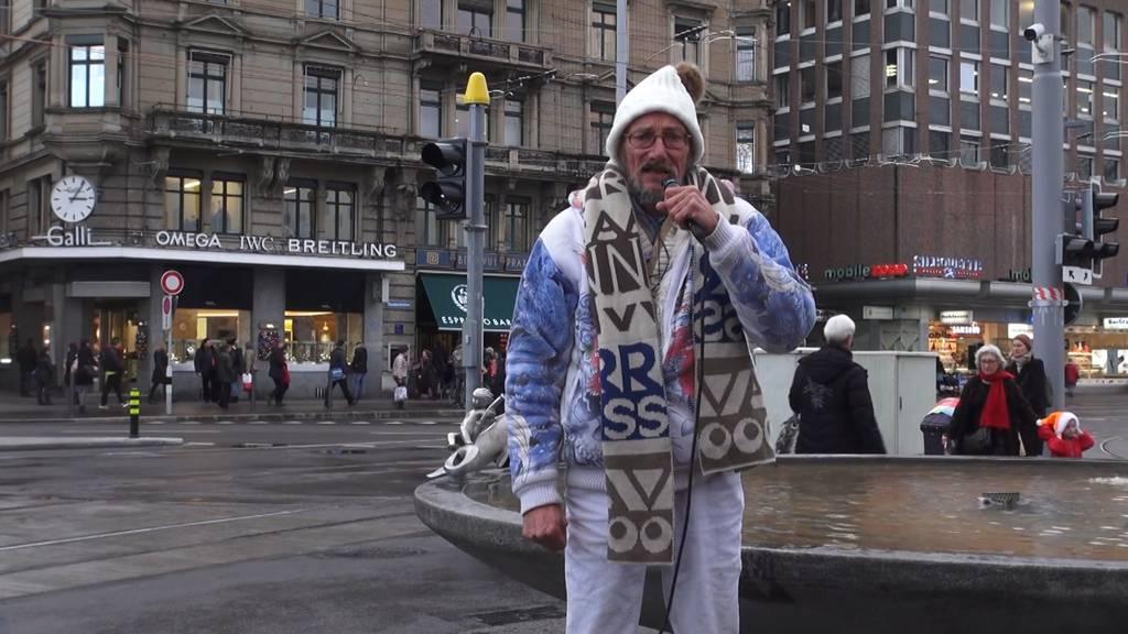 Im Alter von 62 Jahren: Zürcher Stadtoriginal Hanf-Ueli ist tot