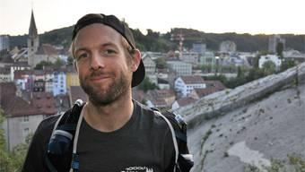 «Baden ist ein idealer Ausgangspunkt für Trailrunning», sagt Christian Eckerlein. zvg