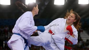 Karateka Elena Quirici (r.) wurde 2016 Europameisterin und ist die aktuelle Weltnummer 2.