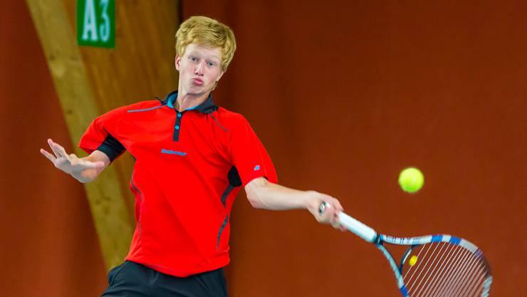 Luca Keist sicherte sich in der Kategorie U18 den Sieg.