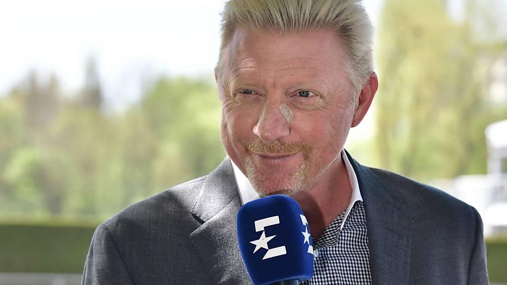 Hat nach eigenen Angaben zu viel Arbeit, um sich um das deutsche Männertennis zu kümmern: Boris Becker als Experte beim TV-Sender Eurosport
