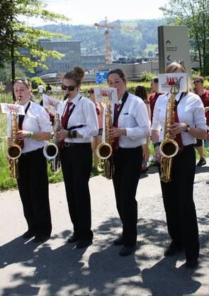 Frauenpower am Saxophon