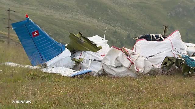 Trauer nach Flugzeugabsturz