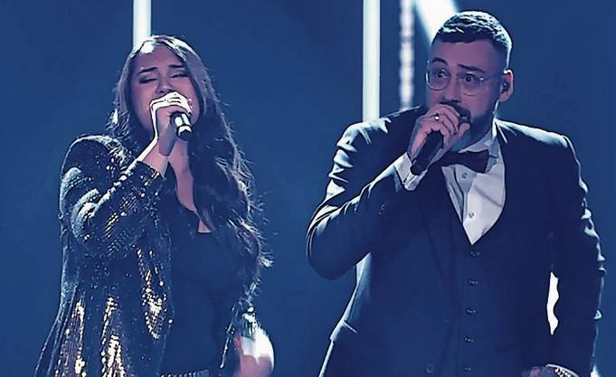 Freschta Akbarzada sang mit Rapper Sido ihren eigenen Song.