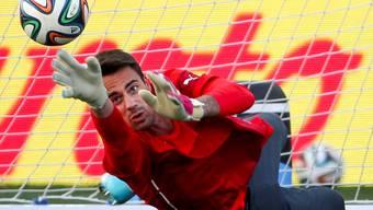 Die Nummer eins geht: Diego Benaglio.