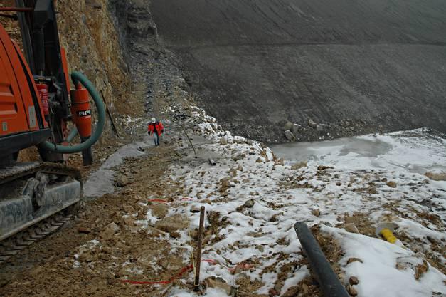 Die Auffüllung der Oberegg mit einem Volumen von rund 3 Millionen Kubikmetern wird voraussichtlich rund 15 Jahre dauern.
