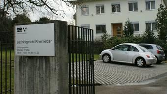 Das Bezirksgericht Rheinfelden.
