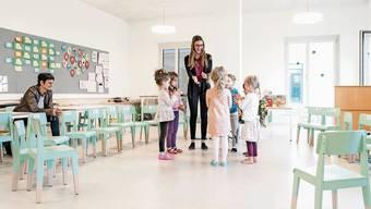 Der Kindergarten Limmatfeld ist schon eingeweiht. Viele Schulbauten werden noch folgen. Das schlägt sich bereits im Budget 2021 nieder, das der Stadtrat vorlegt.