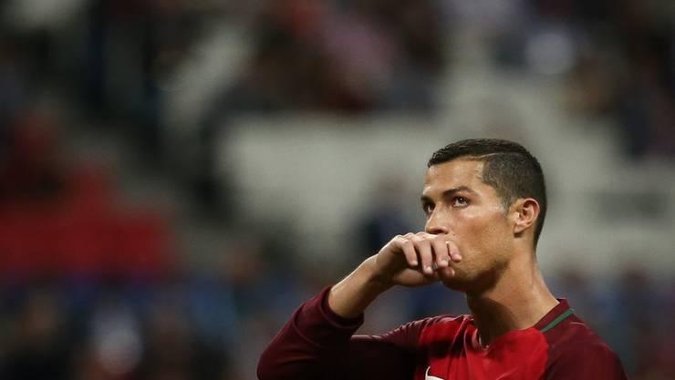 """Cristiano Ronaldo war lange genug """"mit Leib und Seele"""" beim Confed-Cup in Russland - jetzt will der portugiesische Fussballer zu seinen neugeborenen Zwillingen."""