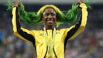 Shelly-Ann Fraser-Pryce gewann bei den Olympischen Spielen 2016 in Rio über 100 m die Bronzemedaille