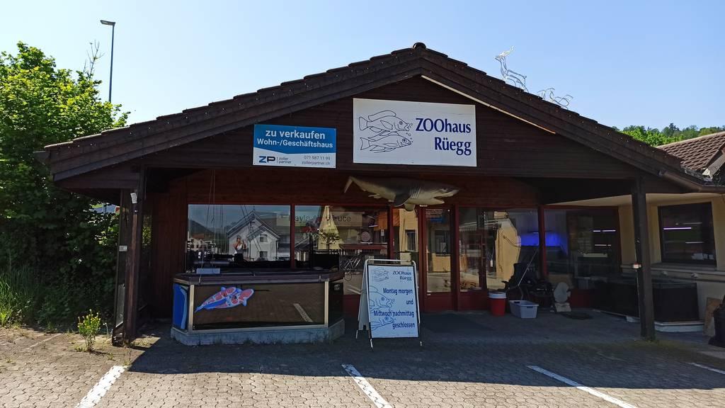 Das definitive Aus für die letzte Toggenburger Zoohandlung