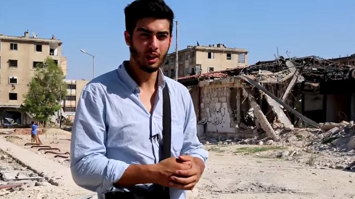 Naim Cherni in Syrien