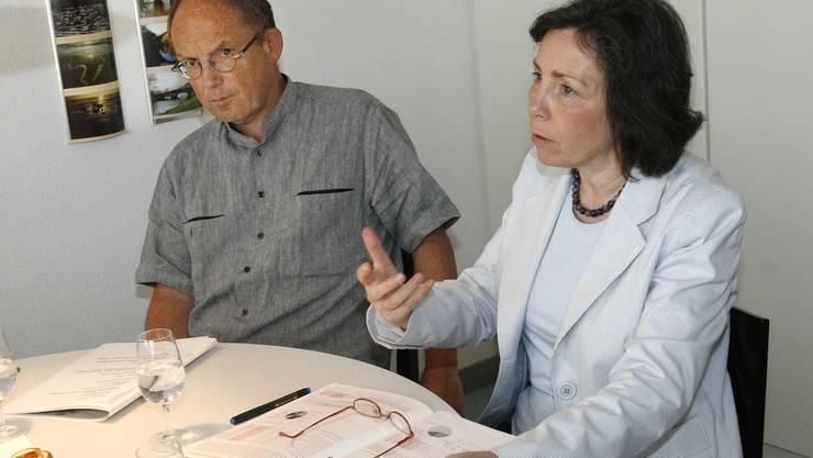 Beatrice Inglin-Buomberger und Dieter von Blarer teilten sich bis 2013 die Ombudsstelle.