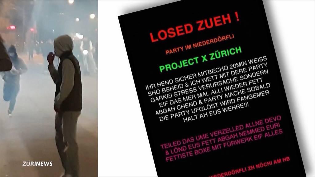 Krawalle in Zürich und Winterthur angekündigt: Polizei bereitet sich vor